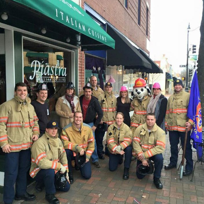 piastra-modern-italian-cuisine-historic-marietta-square-georgia-restaurant-storefront-firemen-event-group-photo